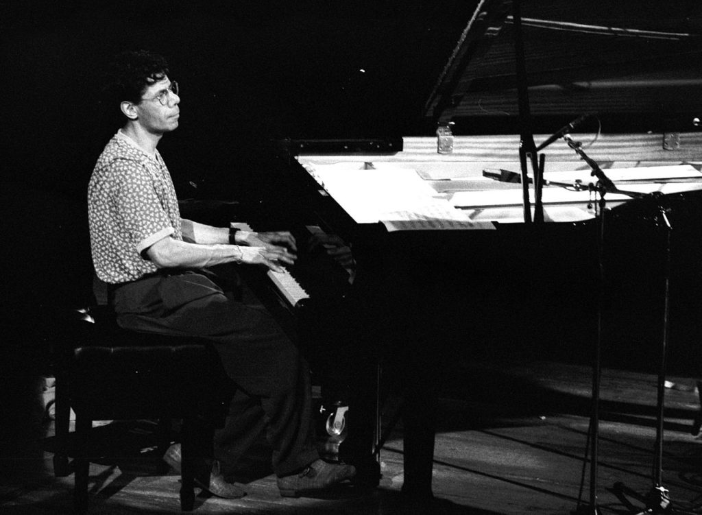 Chick Corea am Klavier