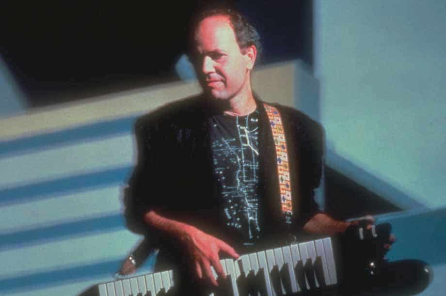 Jan Hammer am Keyboard