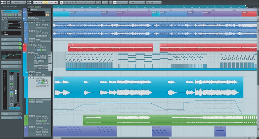 Live-Playbacks mit Cubase