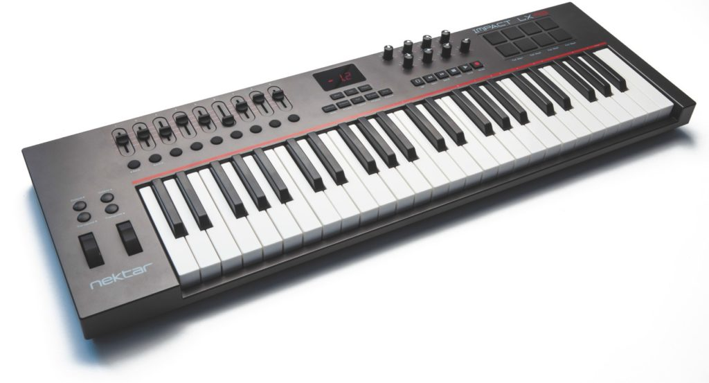 nektar impact lx 49 usb controller keyboard im test. Black Bedroom Furniture Sets. Home Design Ideas