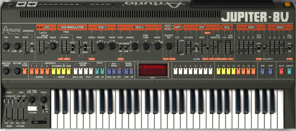 Screenshot - Arturia Jupiter 8V