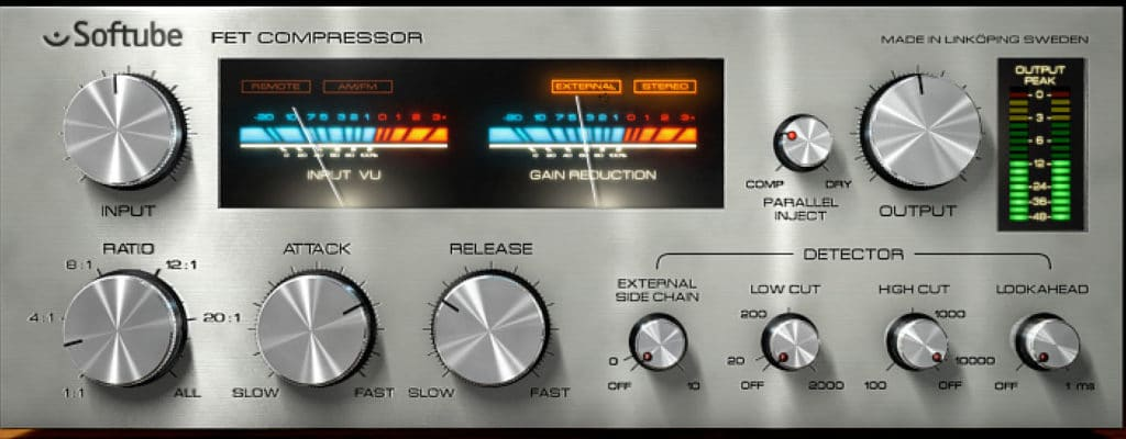 Screenshot - Softube FET Compressor