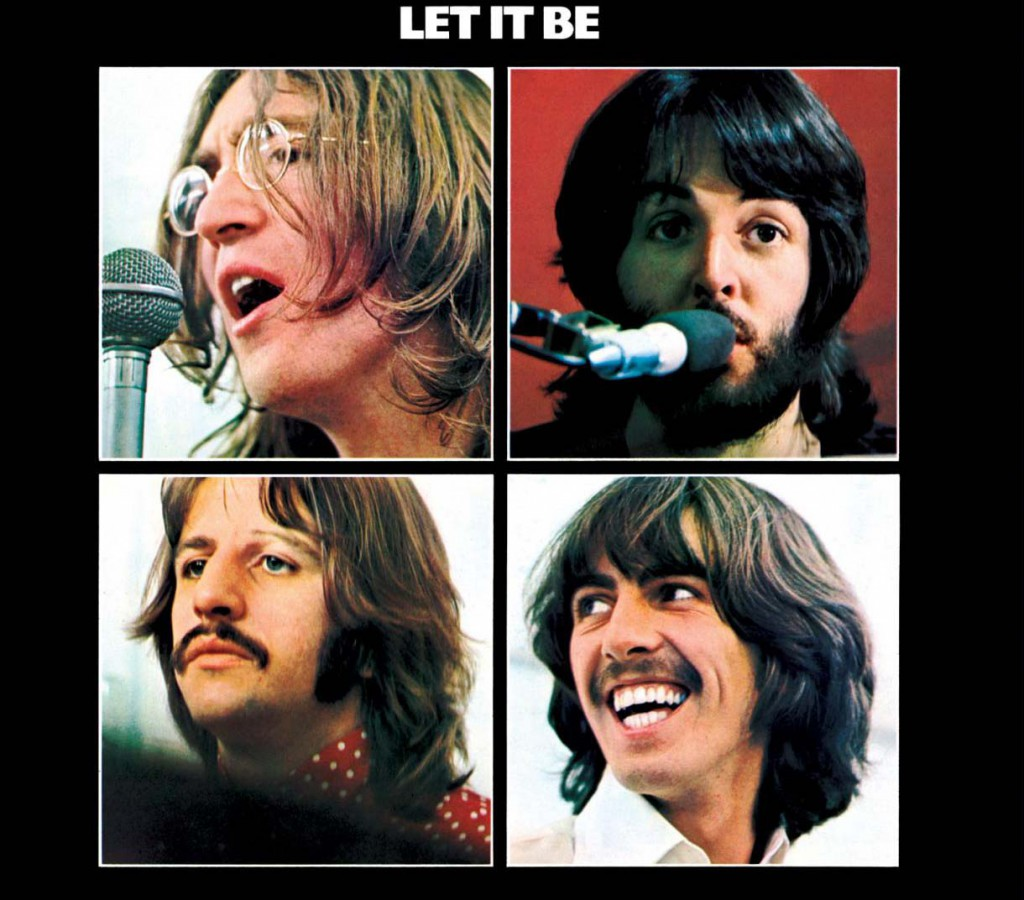 Chartcard - The Beatles - Let it be
