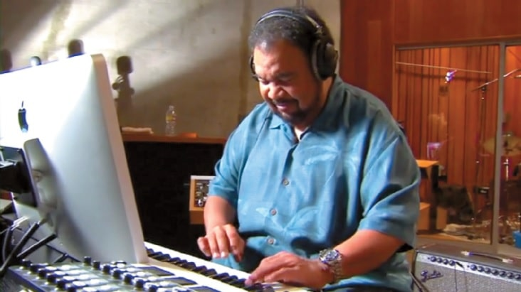 George Duke in seinem Element