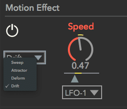 motion effect