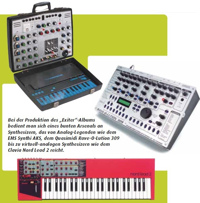 Synthie Set-up