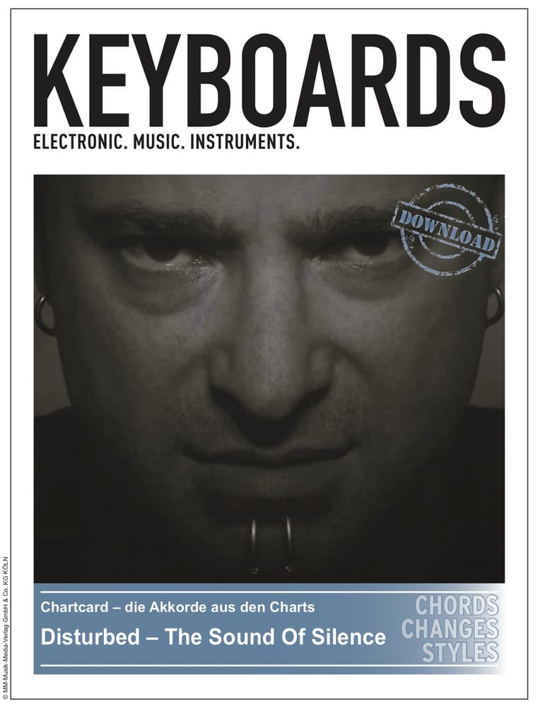Produkt: Chartcard – Disturbed – The Sound Of Silence