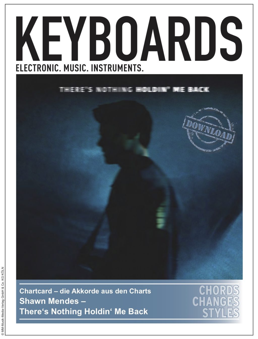 Produkt: Chartcard – Shawn Mendes – There's Nothing Holdin' Me Back