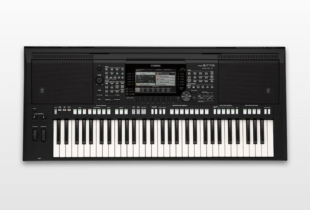 namm 2018 yamaha stellt psr s775 und psr s975 vor keyboards. Black Bedroom Furniture Sets. Home Design Ideas