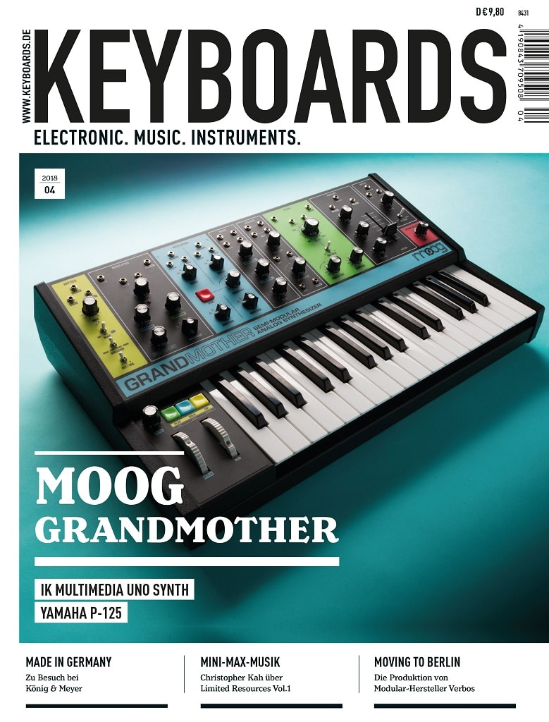 Produkt: Keyboards Digital 04/2018