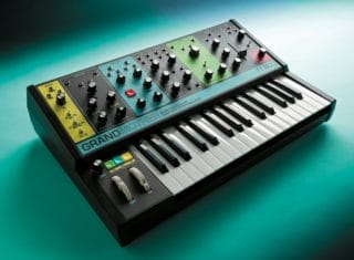 Semi-modularer Analog-Synthesizer Moog Grandmother 1
