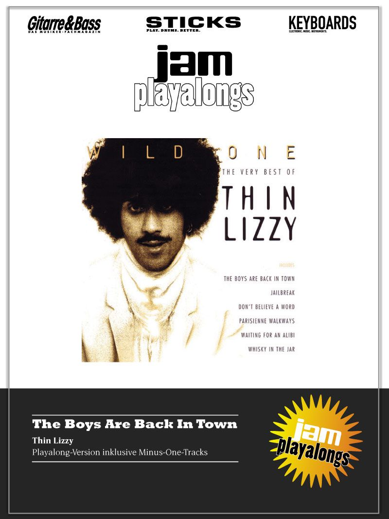 Produkt: The Boys Are Back In Town – Thin Lizzy