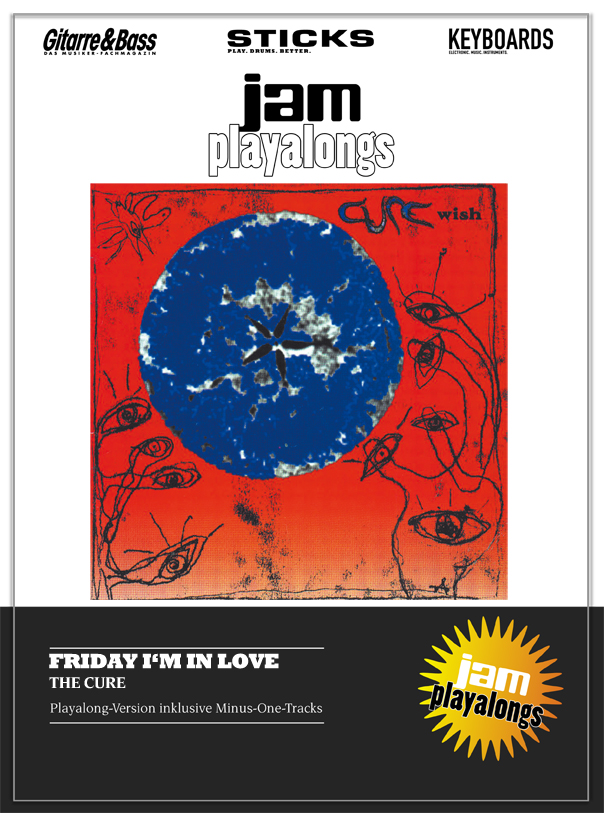 Produkt: Friday I'm In Love – The Cure