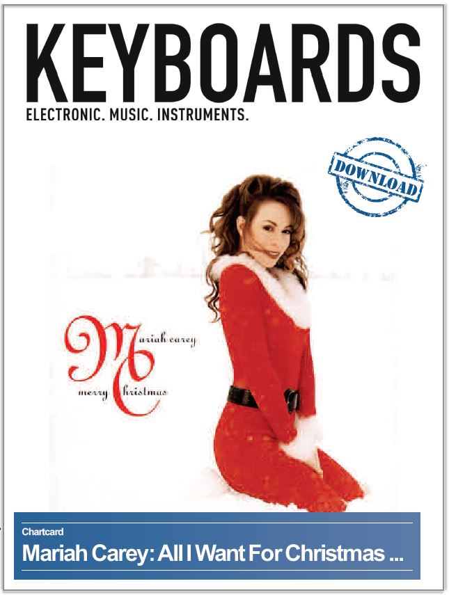 Produkt: Chartcard: Mariah Carey  – All I Want For Christmas Is You