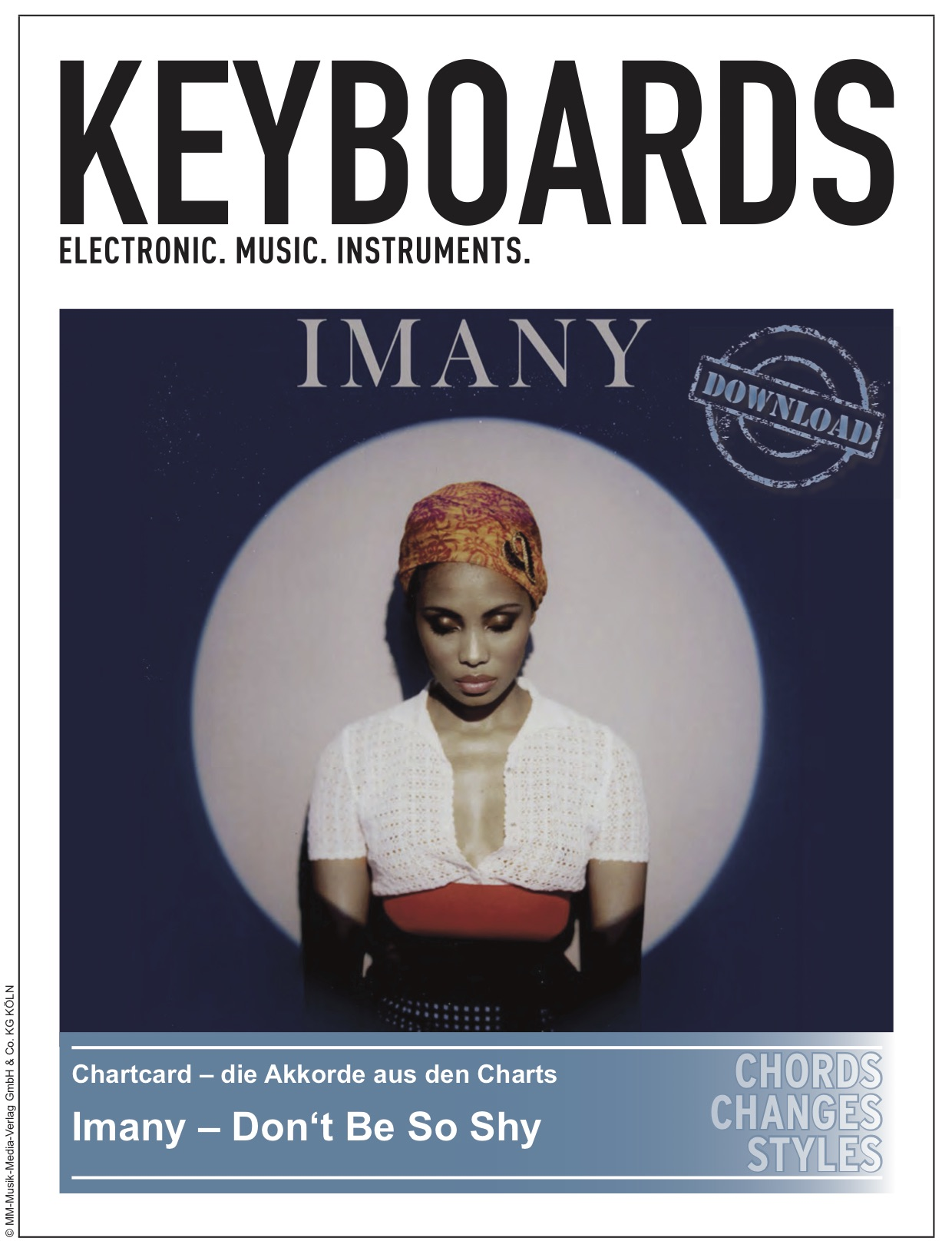 Produkt: Chartcard – Imany – Don't Be So Shy