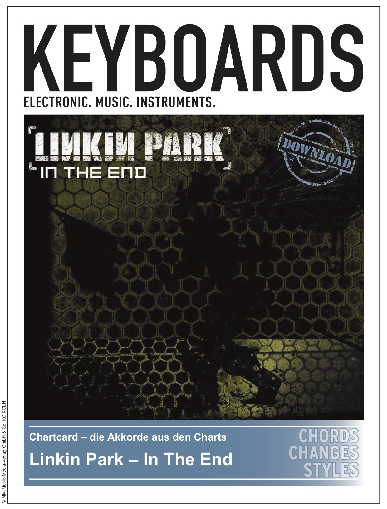 Produkt: Chartcard – Linkin Park – In The End