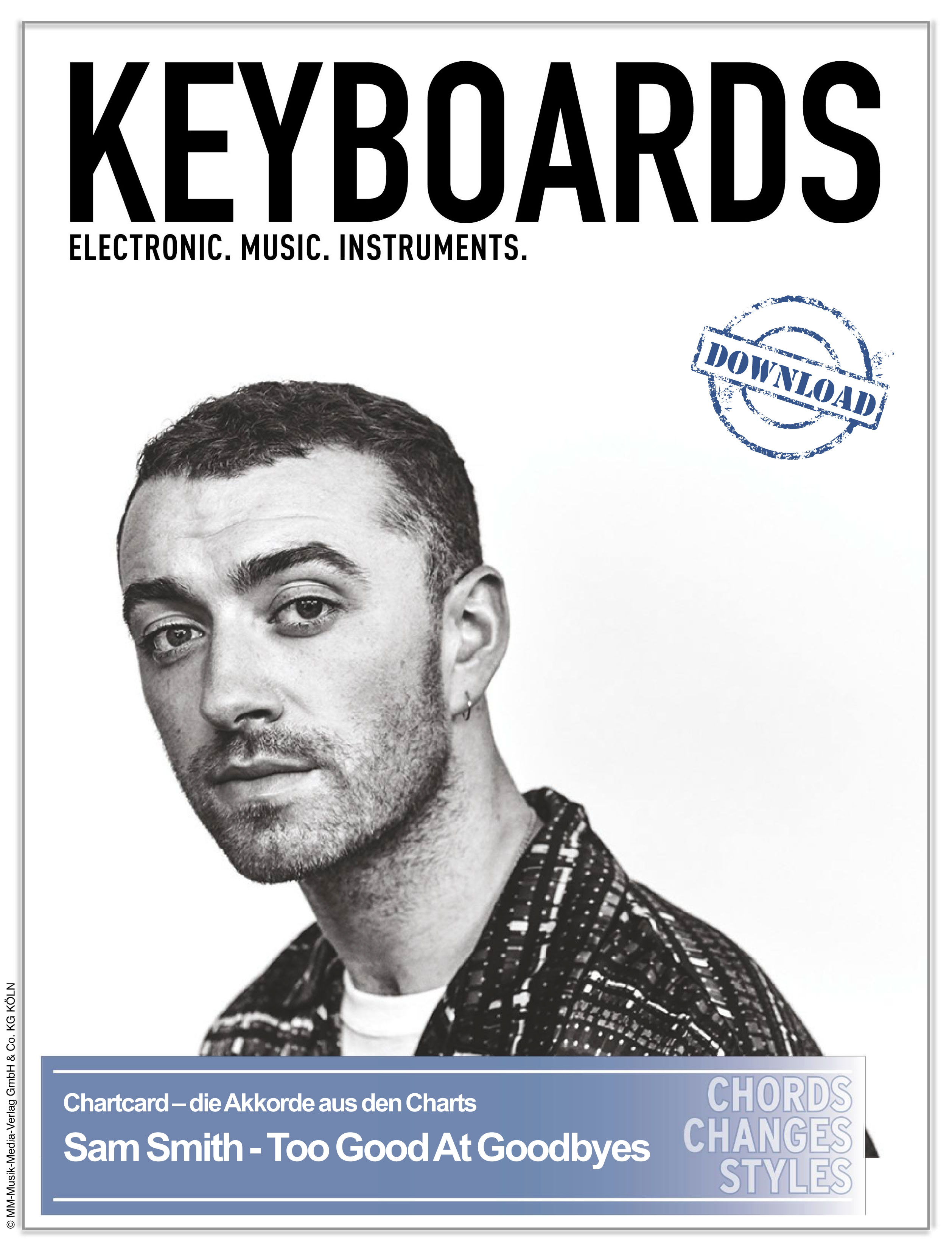 Produkt: Chartcard – Sam Smith – Too Good At Goodbyes