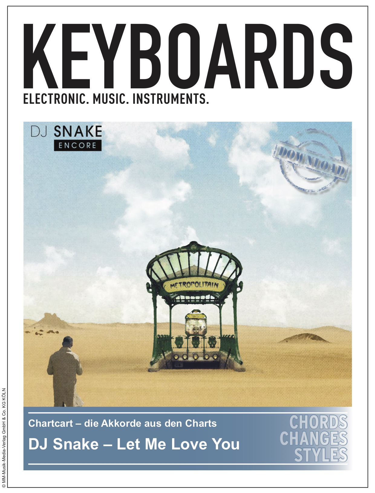 Produkt: Chartcard – DJ Snake – Let Me Love You