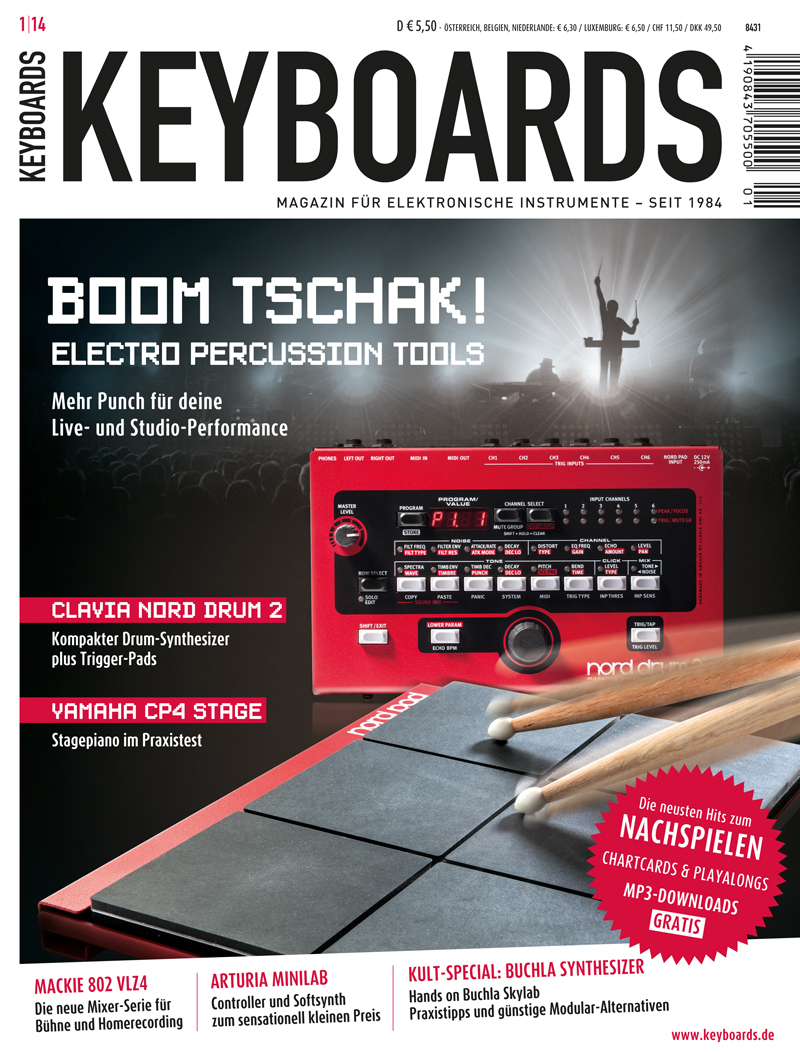 Produkt: Keyboards Digital 1/2014