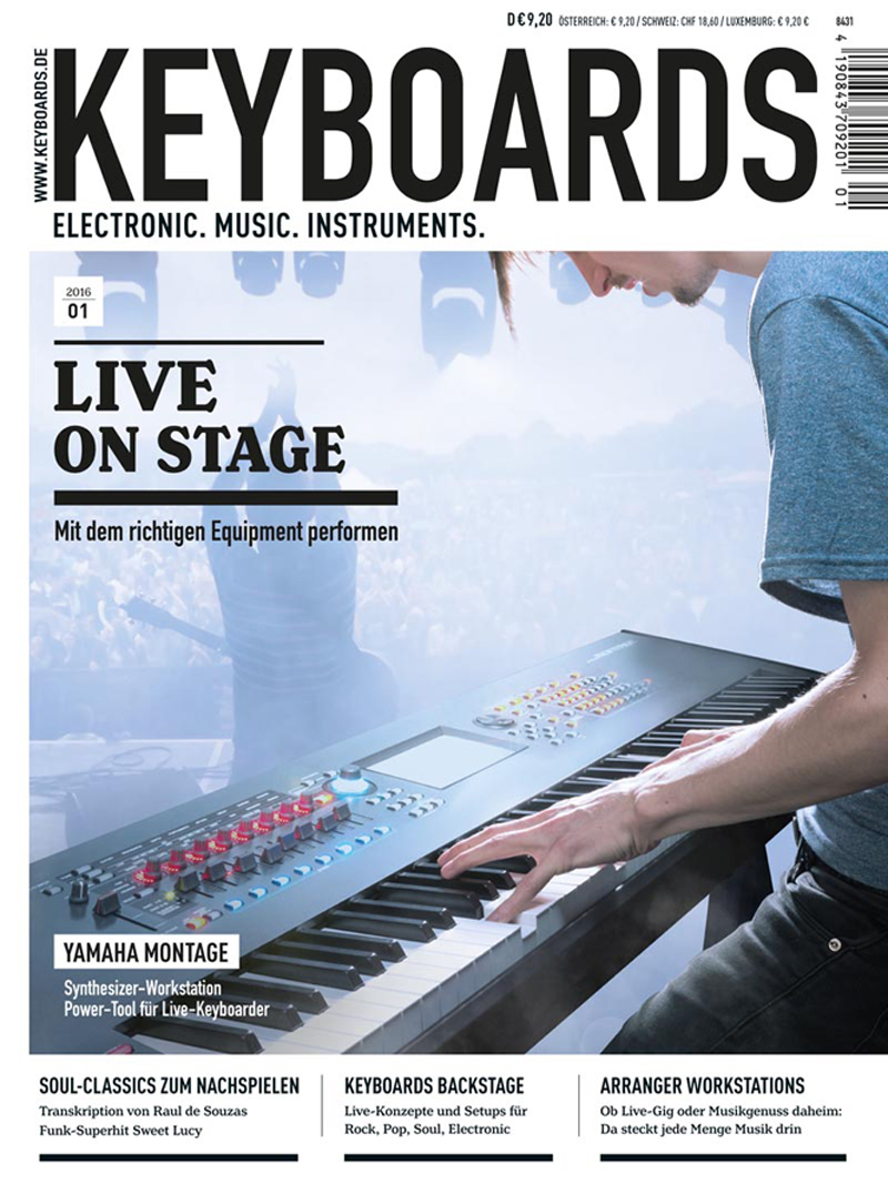 Produkt: Keyboards Digital 01/2016