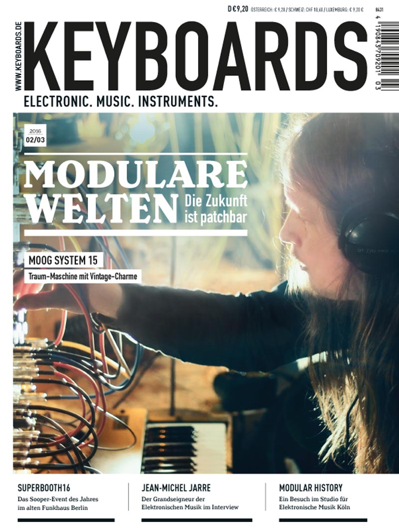 Produkt: Keyboards Digital 02-03/2016