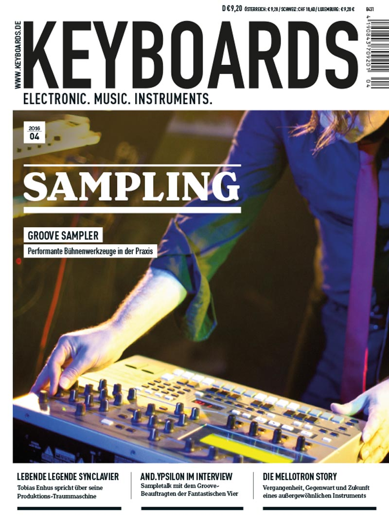Produkt: Keyboards Digital 04/2016