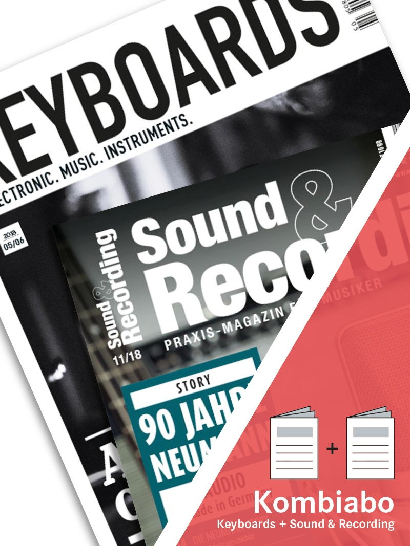 Produkt: KEYBOARDS + SOUND & RECORDING Kombi-Abo