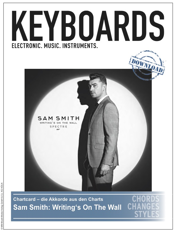 Produkt: Chartcard – Sam Smith: Writing's On The Wall